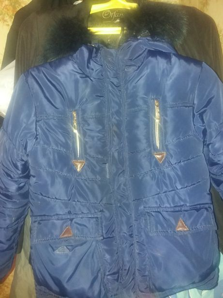 куртка зимняя на флисе