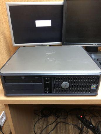 Dell офисный компьютер 2.8Ггц 2 гб DDR2 ОЗУ 80ГБ