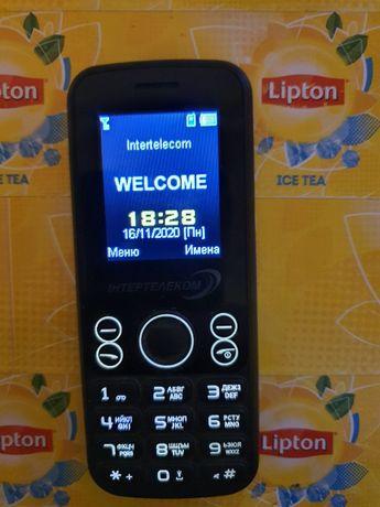 Мобильный телефон с городским номером Интертелеком