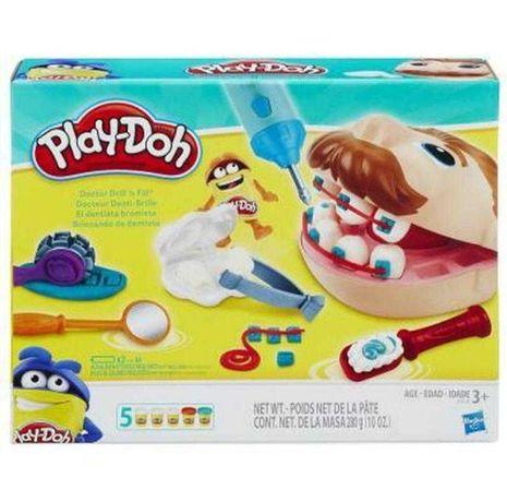 Набор play-doh стоматолог Пластилин