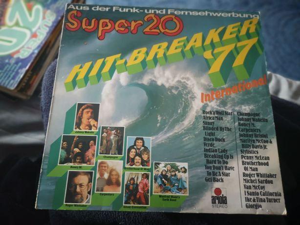 Płyta winylowa disco super 20 lata 77