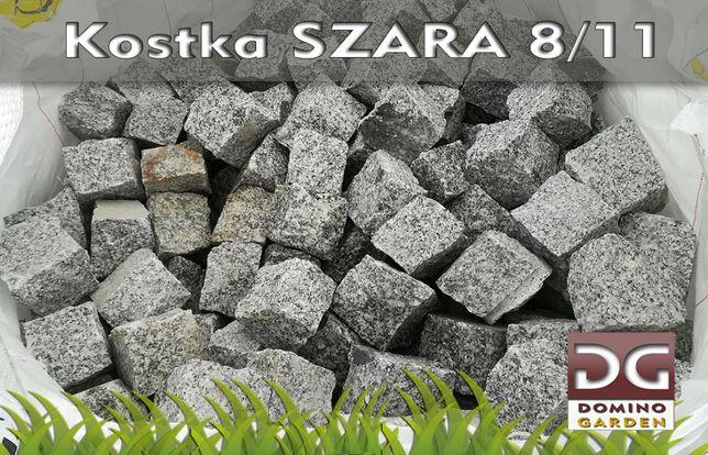 Kostka granitowa gat I szara 8/11 - PRODUCENT - OSTROWIEC Św
