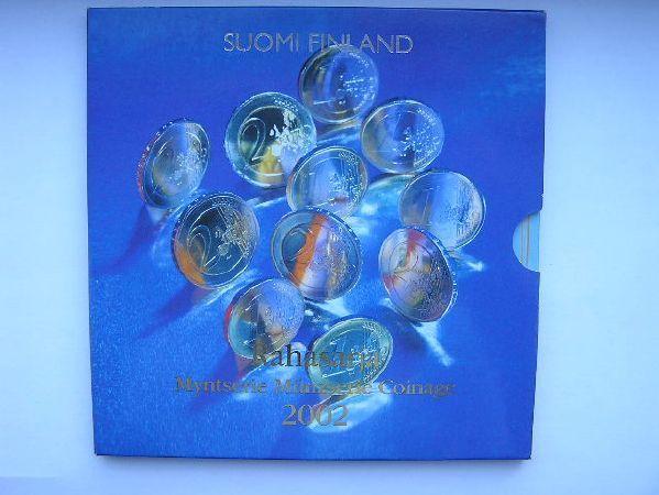 Carteira Oficial EURO Finlandia 2002