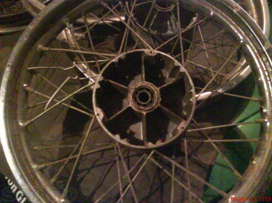 колёса от мотоцикла без покрышки и камеры