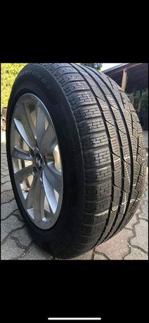 Opony zimowe z Felgami Pirelli BMW r17 225/55 stan idealny