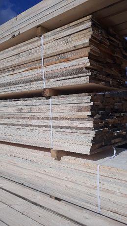 Deski szalunkowe, Więźba dachowa łaty stemple podbitka