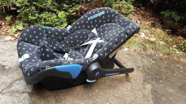 Krzesełko samochodowe dla dziecka, jak na zdjęciu