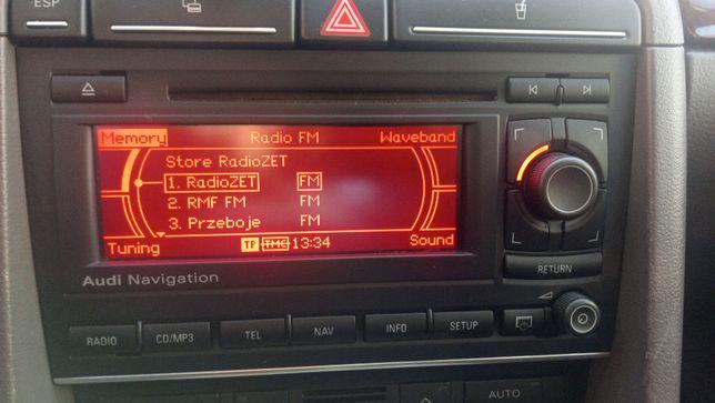 Radio rns Nawigacja System nawigacji Audi -A4-A6