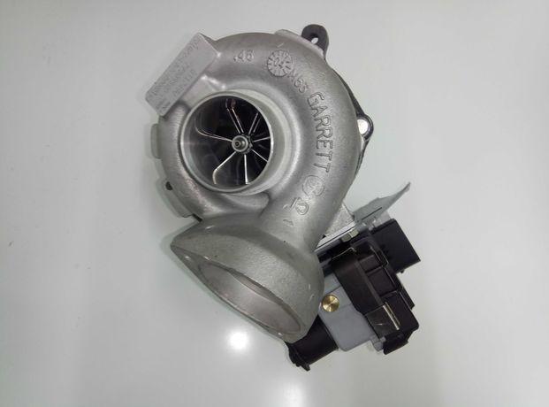 Turbo BMW 320D E46 X3 GT1749V Hibrido GT1752V C/MFS Válvula Elétrica