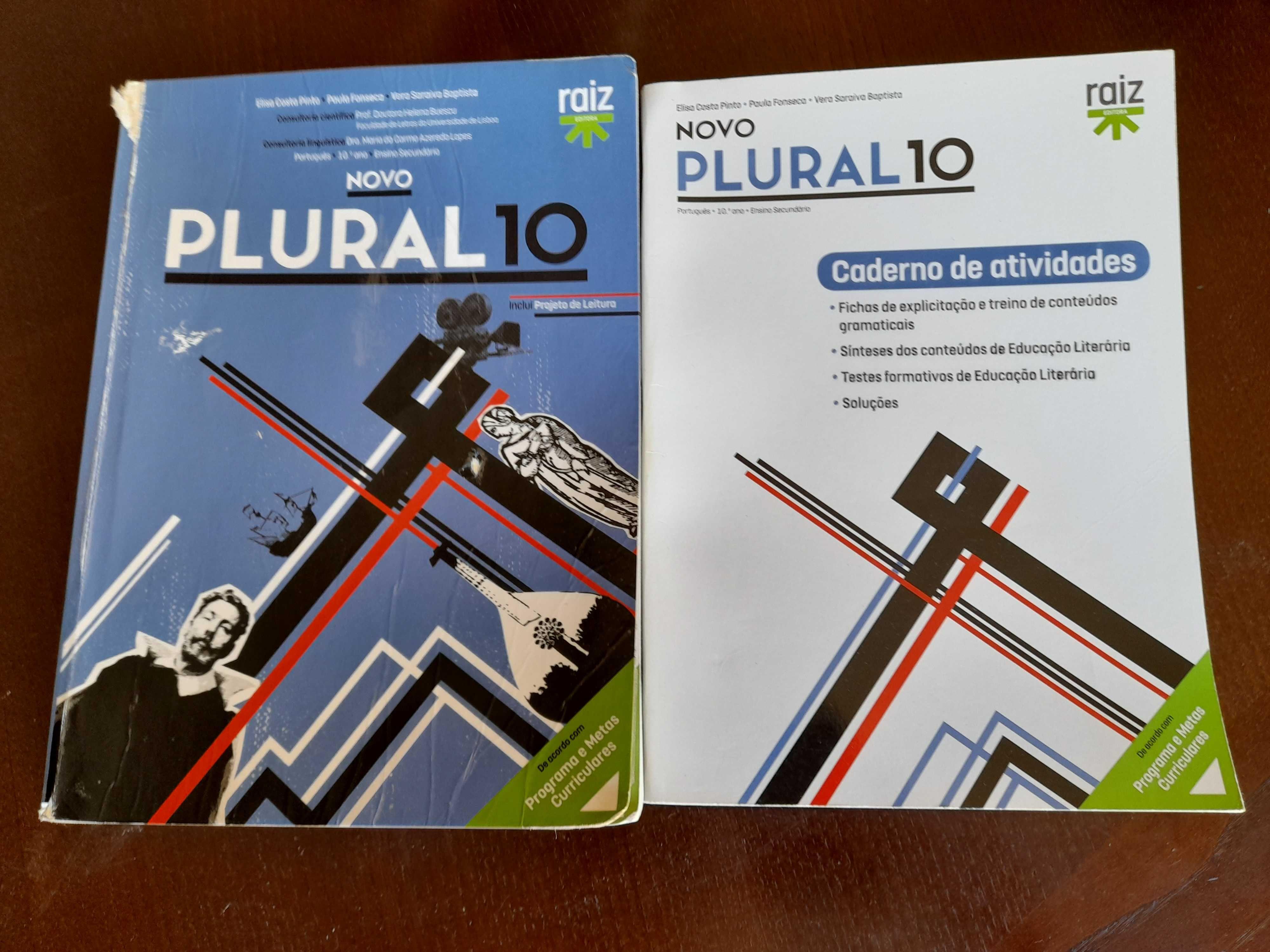 Vende-se manual Português 10º ano «Plural 10»