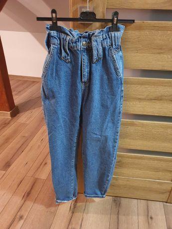Spodnie damskie  typu paperbag ZARA