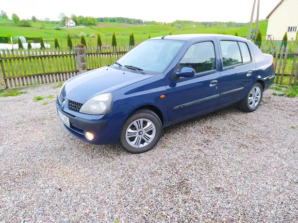 Renault Thalia 1.4 2003r PRZEBIEG 145tys HAK