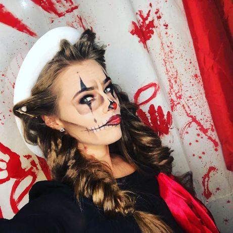 Грим, макияж на Хэллоуин
