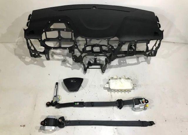 Hyundai i10 cintos airbags tablier