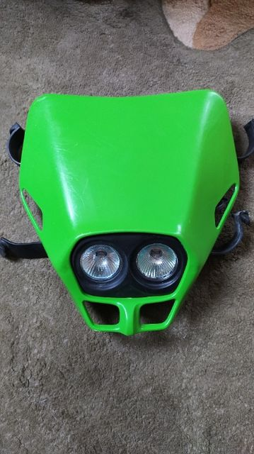 Lampa przód owiewka, Cross Enduro Ufo Firefly, Kawasaki KX KXF KDX KLX