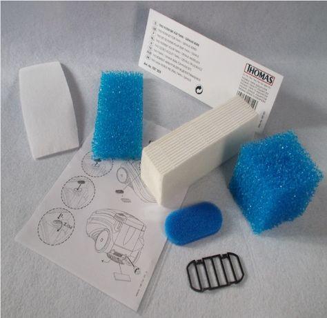 Набор комплект фильтров для пылесоса Томас THOMAS TWIN GENIUS