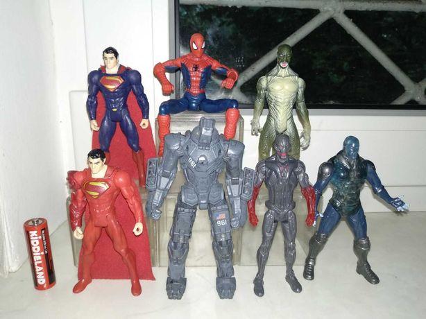 Шарнирные/подвижные фигурки Marvel DC Hasbro Альтрон Электро Супермен