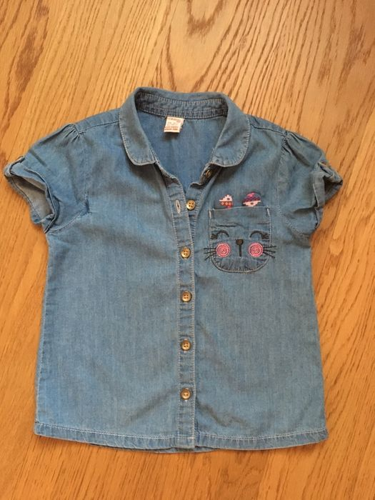 Джинсовая рубашка LC Waikiki, блузка на 2-3 года Киев - изображение 1