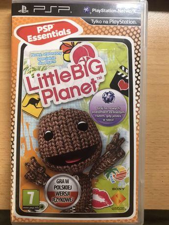 Gra na PSP Little big planet