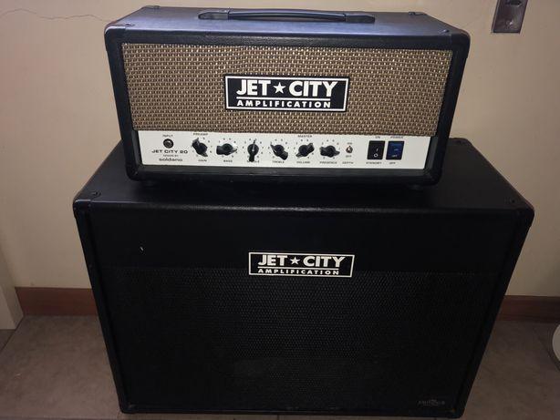 Amplificador a válvulas - Jet City JCA20HV + Cabinet