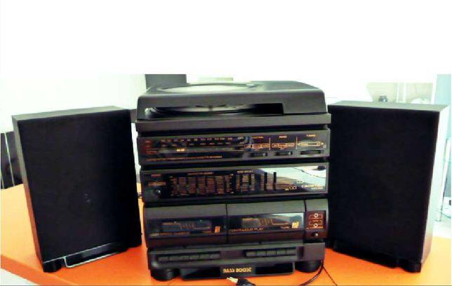 Wieża CROWN Japan z gramofonem. Model MC - K 260