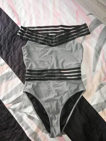 Szary strój kąpielowy 38 M