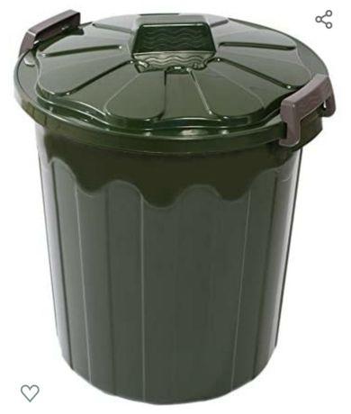 Caixote lixo verde