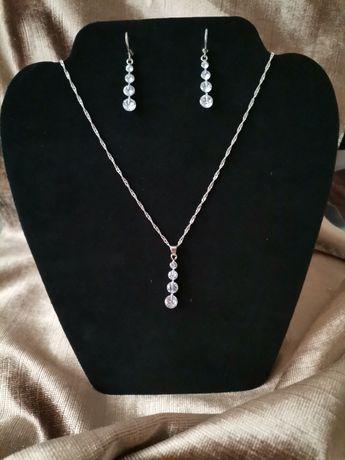 Nowy komplet biżuterii 925