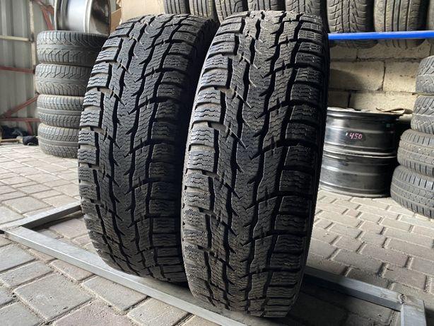 зима цешка 215\65\R16C 2017г 8,1мм Nokian WRC 3 2шт шины грузовая С