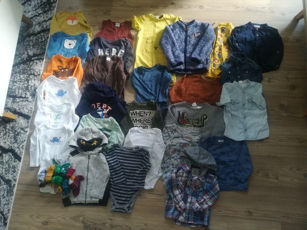Zestaw ubrań 27szt dla chłopca r.92 body bluza/h&m zara / jesień zima