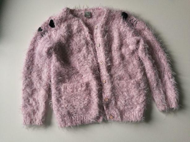 Sweterek Tu różowy 4-5 lat 104-110cm