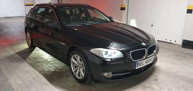 BMW F11 520d 184km Manual! Półskóry