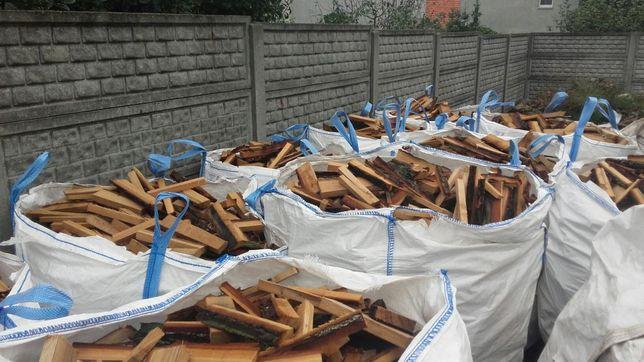 Drewno dębowe zrzyny