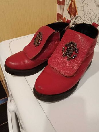 Ботинки кожа зима женские Р36