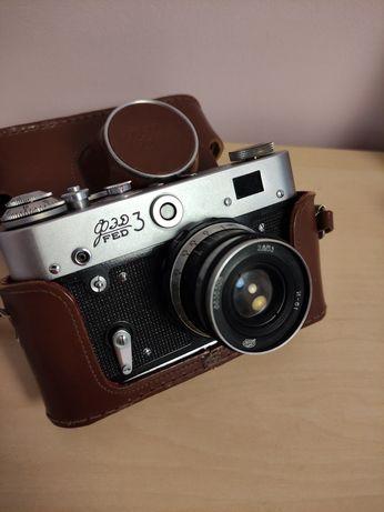 Vintage analogowy aparat fotograficzny FED 3