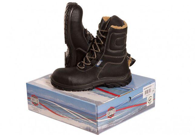 Новые ботинки сапоги кожа зимние Lemaitre Snowfox S3 SRC 45р-30см