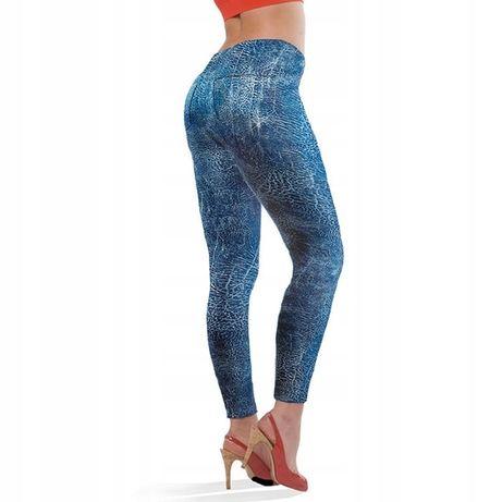 Spodnie, legginsy wyszczuplające S/M