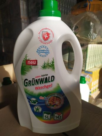 Гель Порошок стирки Grunwald Грунвальд моющее кухни ванны Dropshipping