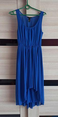 Sukienka H&M plisowana
