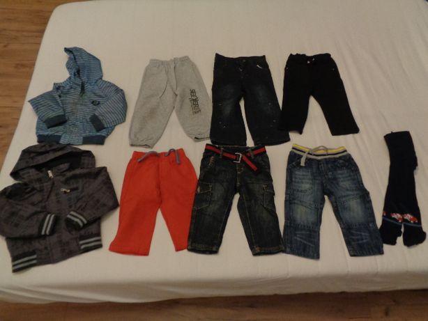 OKAZJA Ubranka duży zestaw dla chłopca 74-86