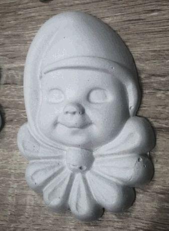 Гипсовая фигурка - маска для декорирования