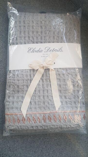 Nowy Szary Koc Elodie Details 70x100 splot waflowy