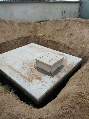 Szambo zbrojone betonowe 8000 na ścieki gnojowicę deszczówkę