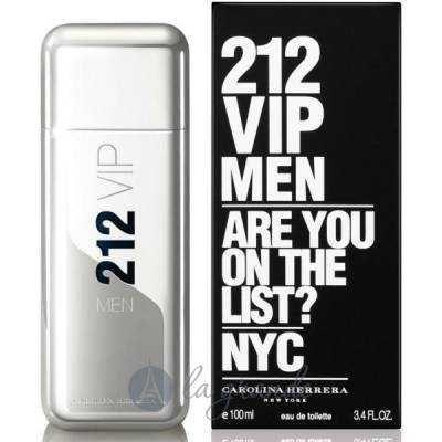 Мужская туалетная вода Carolina Herrera 212 VIP Men 100ml
