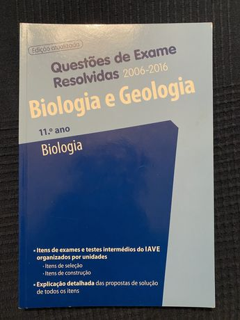 Livro com Questões de Exame Resolvidas - Biologia