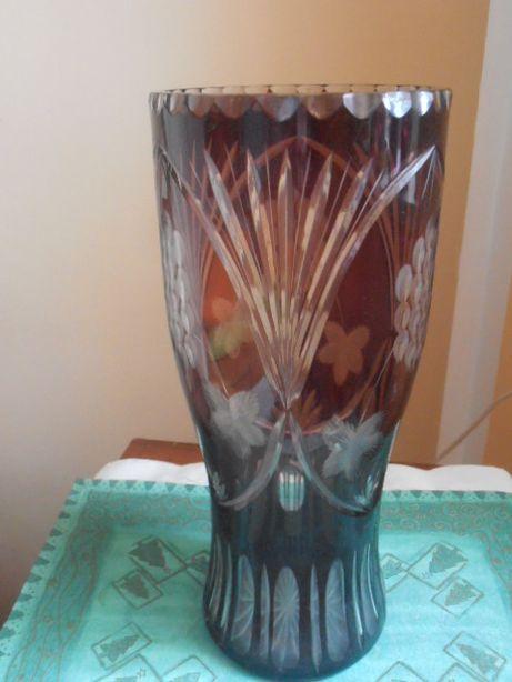 Piękny wazon Kryształ.