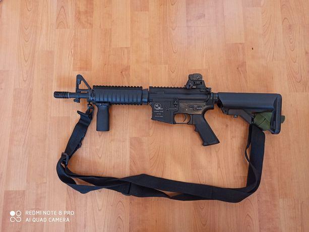 ASG Karabin Arma Lite METAL - Zestaw kamizelka + plecak