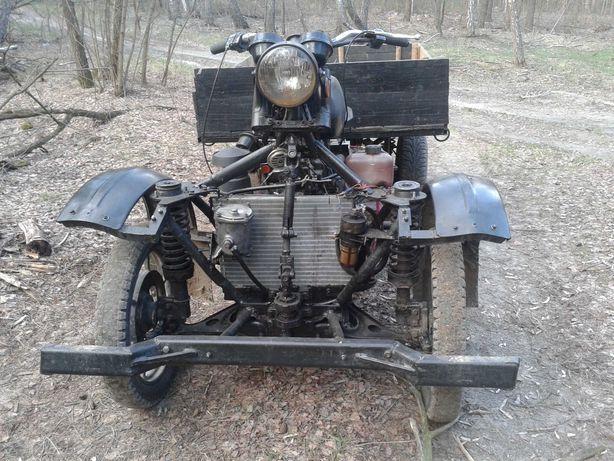 Квадроцикл грузовой