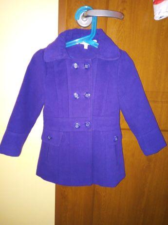 Płaszczyk dziewczęcy fioletowy 3-4 lata girl2girl