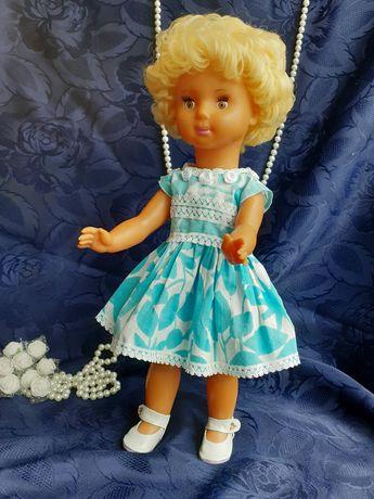 Кукла ГДР Biggi Waltershausen Бигги винтаж 43 см ранняя